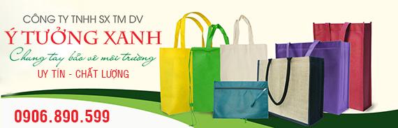 công ty sản xuất túi vải ý tưởng xanh