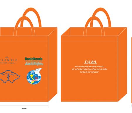 Túi vải không dệt quảng cáo 02
