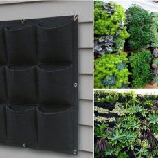 túi vải trồng cây 9 túi